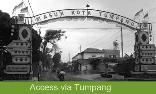 Access to Mt. Bromo via Tumpang - Malang, East Java - Indonesia