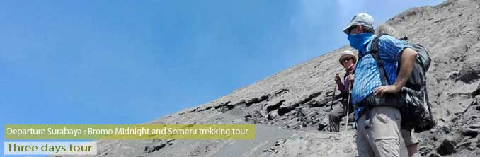 Mount Semeru trekking - East Java
