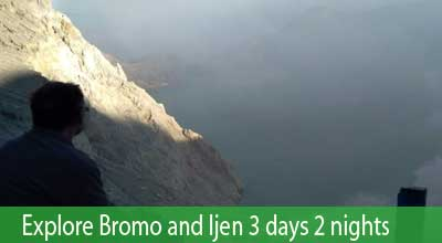 Travel 2 volcanoes: mount Bromo & mount Ijen