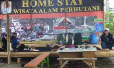 Lodging provided by Perhutani in Tumpang
