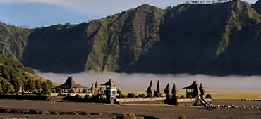 Pura Luhur Poten - the temple in the Sea of Sand of Mt. Bromo
