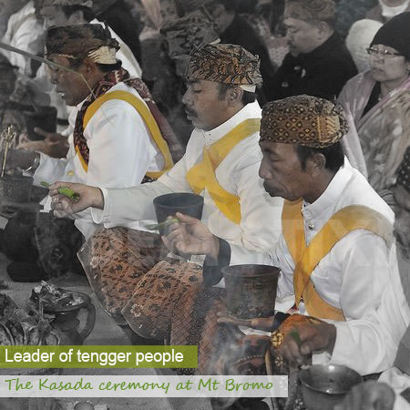 Interview with the Tengger shaman leader - Cemara Lawang, East Java, Indonesia