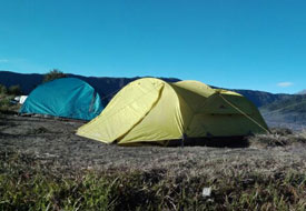 Camping near mount Bromo - East Java